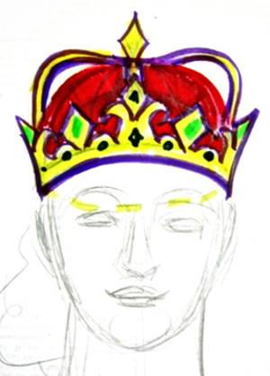 Рисунок корона