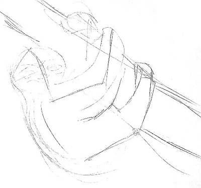 Рисуем ленивца карандашом
