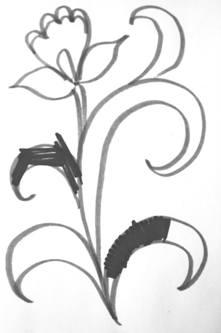 Хохломская роспись для детей