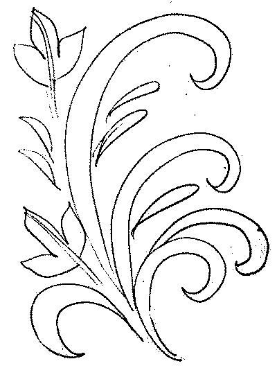 Раскраска хохлома