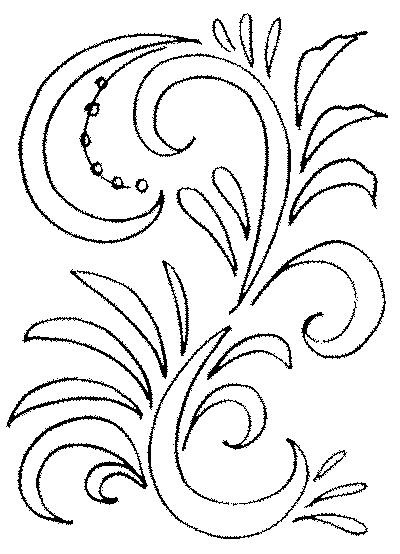 Раскраски на тему хохломской росписи