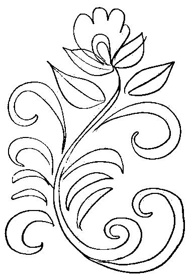 Хохлома картинки узоры раскраски