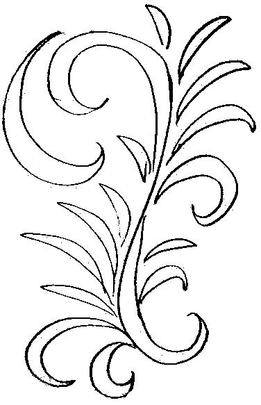 Раскраска золотая Хохлома для детей
