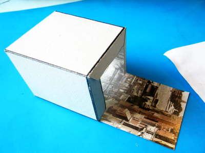 Сделаем кубик из бумаги
