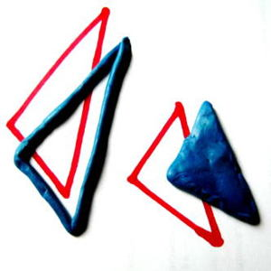 Геометрические фигуры из пластилина