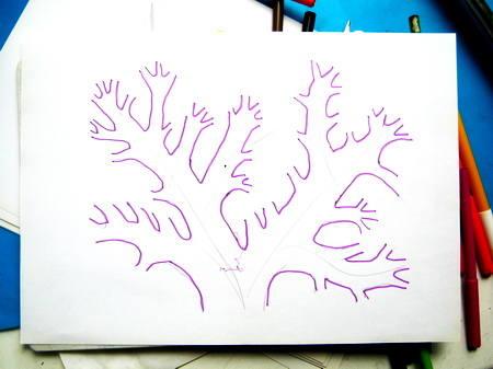 Рисуем кораллы