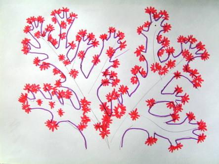 Урок рисования кораллов